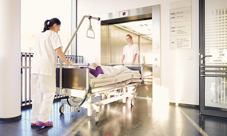 مصاعد المستشفيات